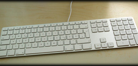 Apple Keyboard am Windows PC