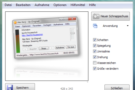 Winsnap – Saubere Screenshots unter Windows 7