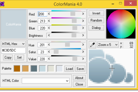 ColorMania, eine Alternative zum pkColorPicker