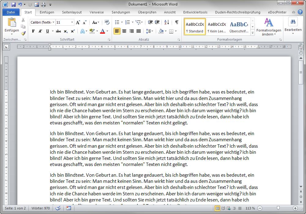 Hintergrundbild in Word 2010 einfügen › Office-Tipps & Tools
