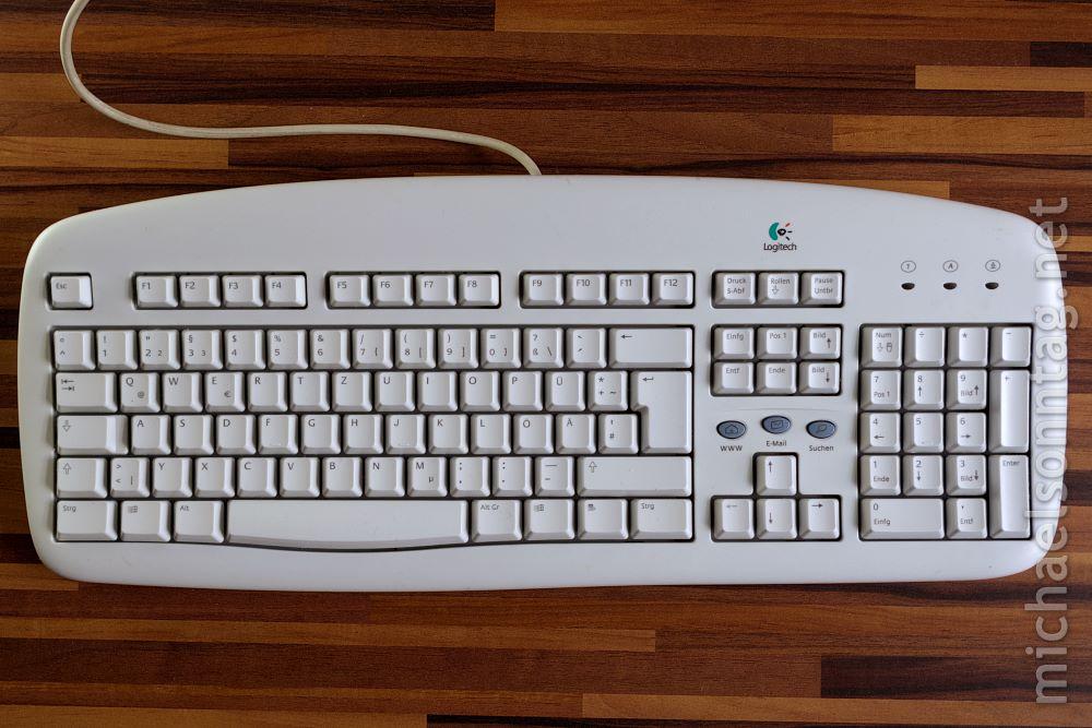 Saubere Tastatur