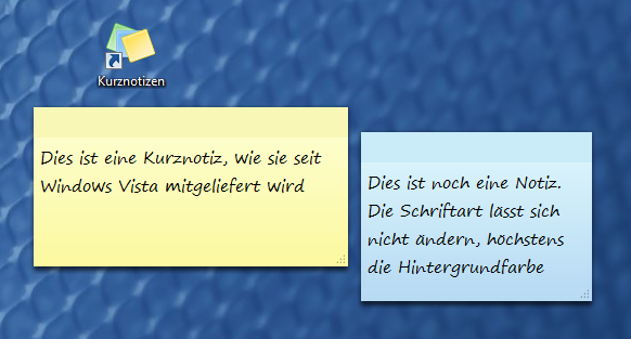 Windows_Kurznotizen